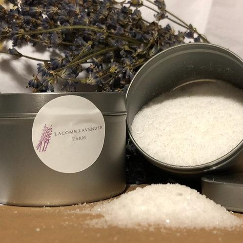 Bath salt/foot scrub