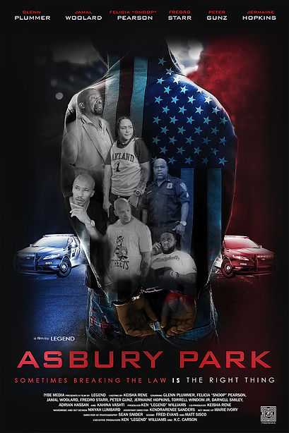 Asbury Park Poster 4x6 - Offical Poster