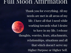 Reiki with a Full Moon, Anyone?