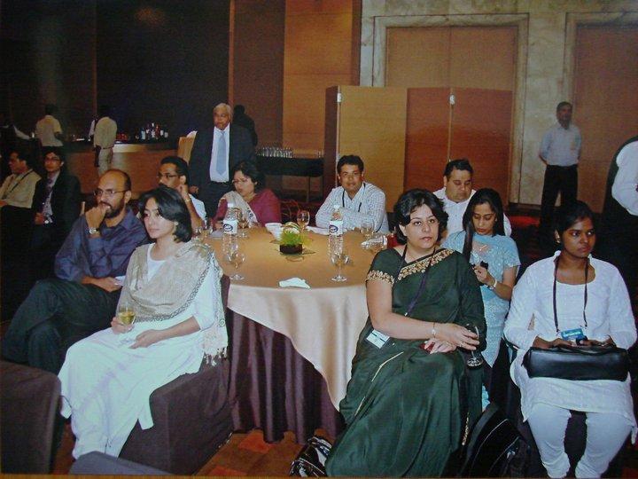 Dr Kurien @ Le Meridien Delhi