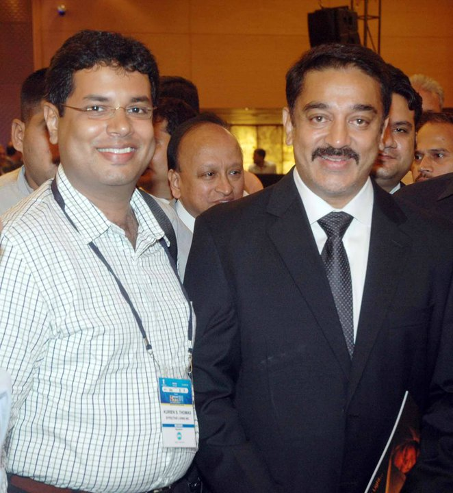 Dr Kurien with Actor Kamal Hasa