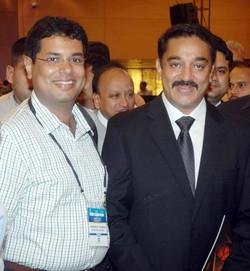 Dr Kurien with Actor Kamal Hasa