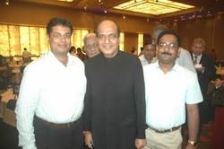 Dr Kurien with Mr. Dinesh Tiwari