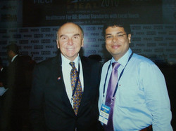 Dr. Kurien with Dr. Philip Hassen
