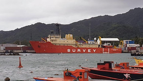 Vessel departs After Successful Survey for New Internet Connectivity for Cook Islands