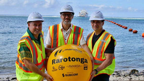 Cook Islands International Submarine Cable Connection Arrives In Rarotonga