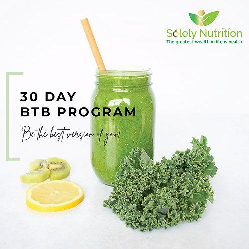 30 Day BTB Program