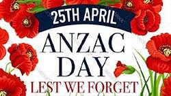 Anzac Day - CLOSED