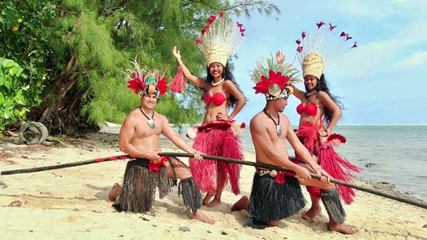 Submarine Fibre Cable Celebrations as it arrives in Rarotonga, Cook Islands