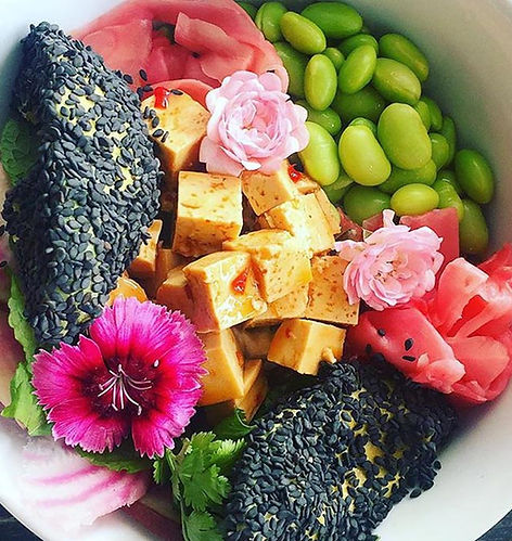A Beautiful Bowl of healthy food