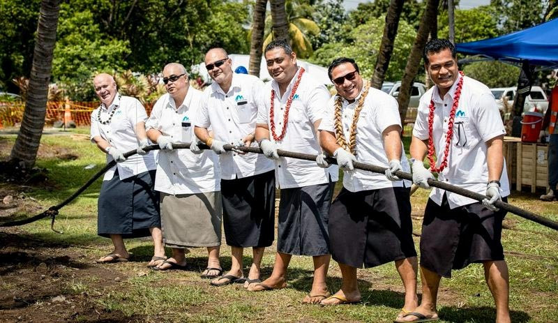 Cable Landing: The Manatua Cable arrives in Samoa, December 2019