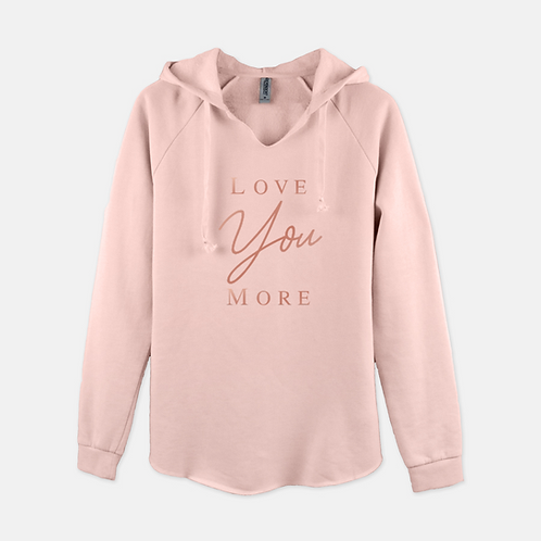 Love You More Boss Babe Hoodie