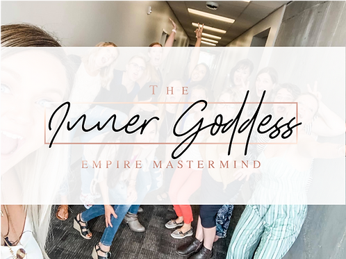 PAYMENTS- 1 Year Inner Goddess Empire Mastermind