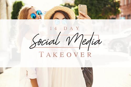 14 Day Social Media Takeover