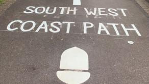 South West Coast Path start gets a pavement makeover