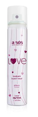 Desodorante Íntimo Love - 60g/100ml