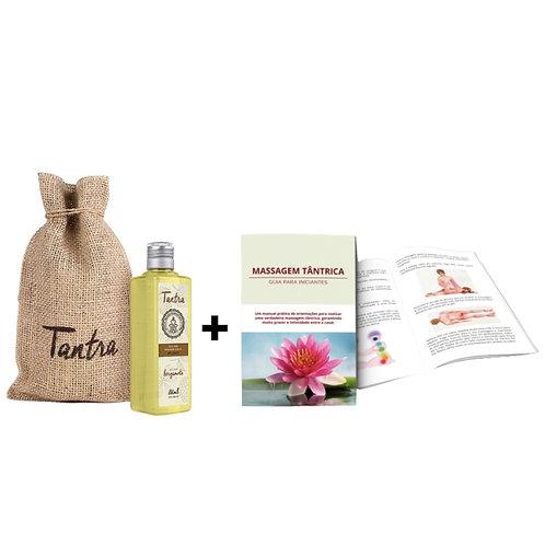Kit Tantra | Óleo de Bergamota+Guia
