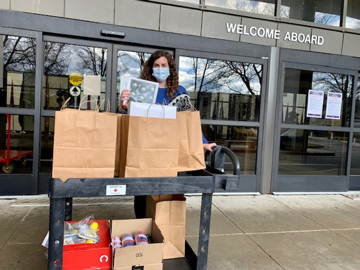 Walter Reed National Military Medical Center through American Red Cross – Holiday Outreach