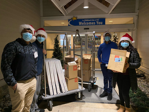 Spreading Holiday Cheer at the NIH Children's Inn!