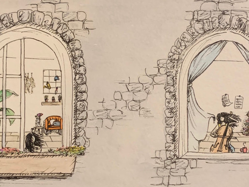 Nanami Miyazaki's Encouraging Art! - Volunteer Spotlight