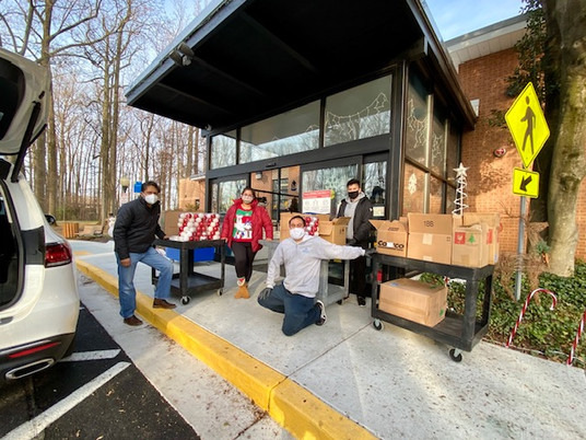 Holiday Gift Project for low income elderly in Montgomery County Villages