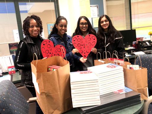 Special Valentine's Day Longview School Visit