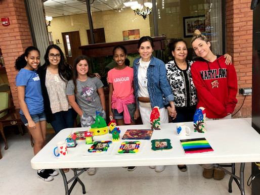 Art Kits at Rockville Nursing Home - June 15th, 2019