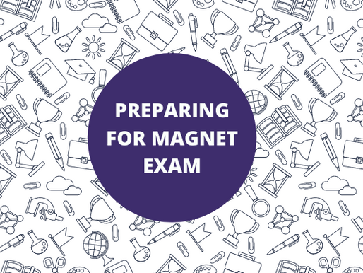Preparing For The Magnet Exam