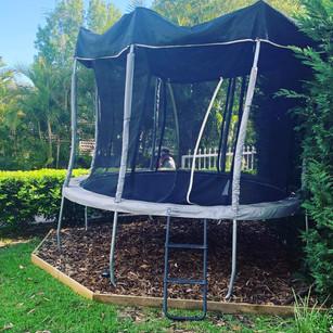 Have you got a trampoline?