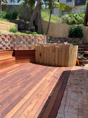 Deck continued