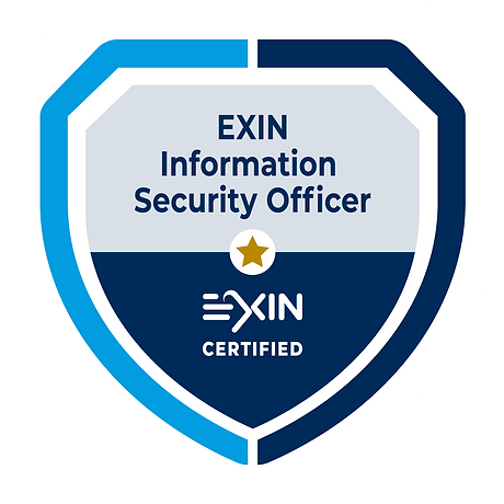 EXIN Information Security Officer w Back