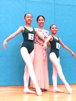 2015英國皇家芭蕾舞考試