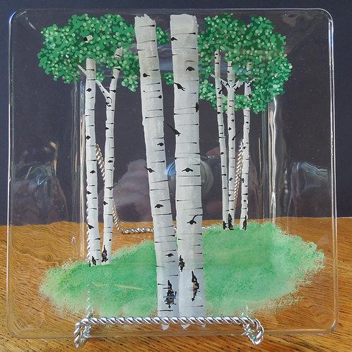 Aspen Tree Serving Plates