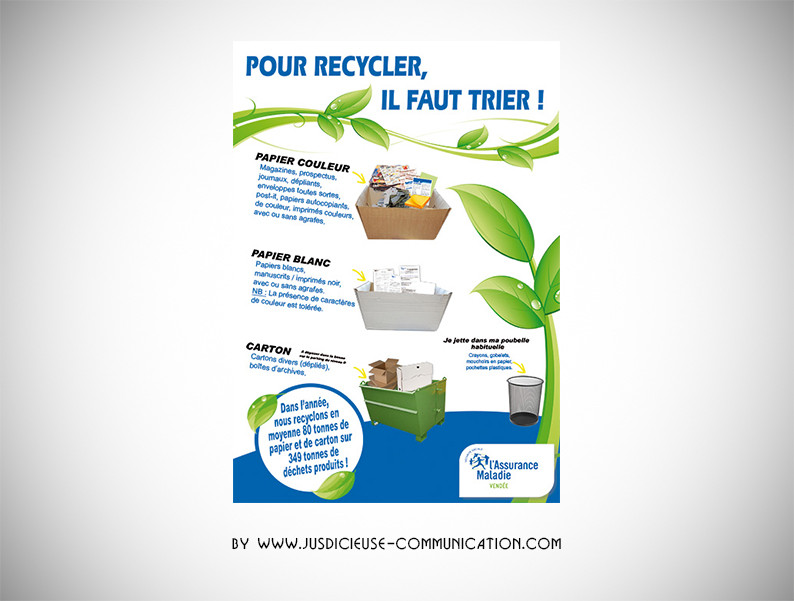 graphiste_angers_affiche_recyclage_cpam.
