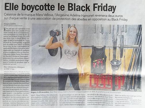 Mara Vellous - article presse - vêtement