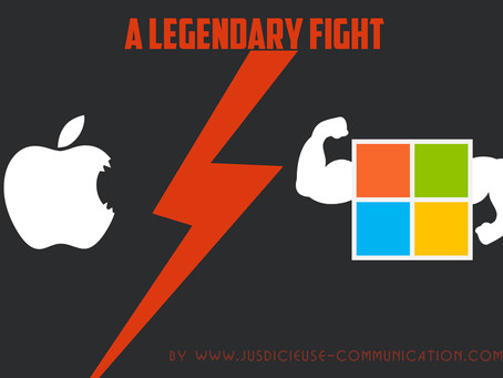Apple VS Microsoft, le combat légendaire !