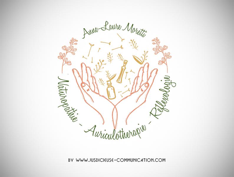 creation-logo-naturopathe-bien-être-gra