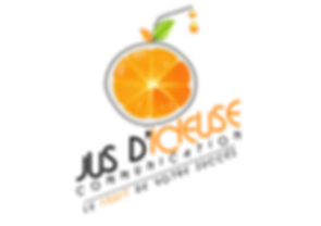 Graphiste Angers - Graphiste Maine-et-Loire Logo Jus d'icieuse Communication