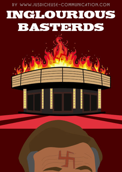 Inglourious Basterds affiche minimaliste