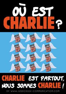 Je suis Charlie, hommage d'une graphiste à Angers
