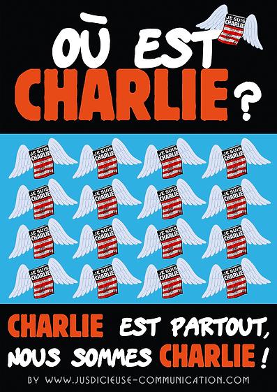 Où est Charlie ? Nous sommes Charlie !