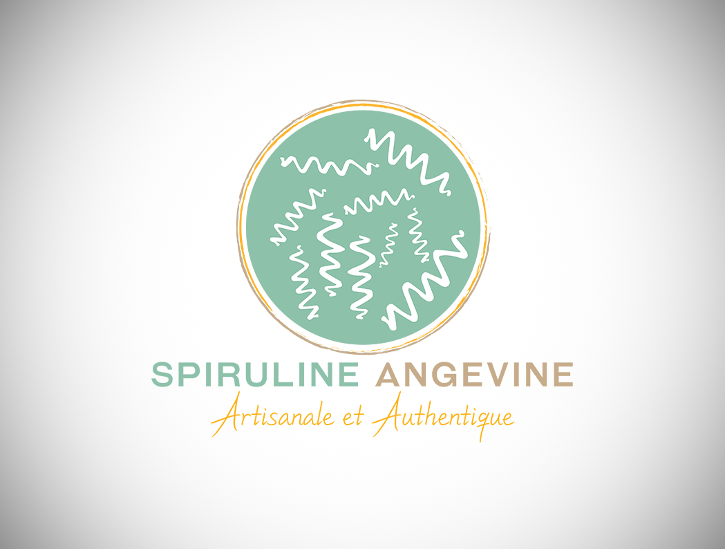 création-logo-graphiste-Angers-spiruline