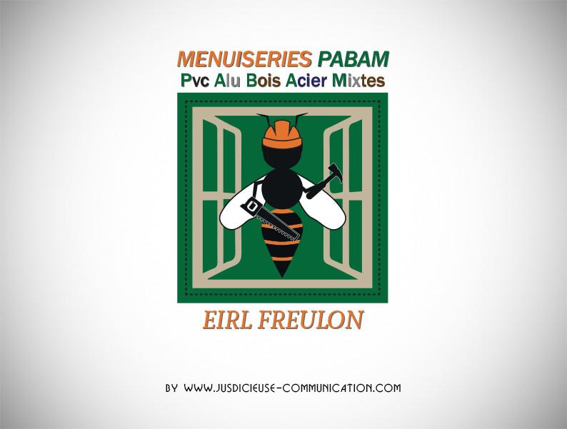 creation-logo-menuiseries pabam-graphist