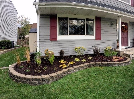 Front Yard Design & Installation