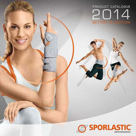 Sporlastic catalogue sports splints