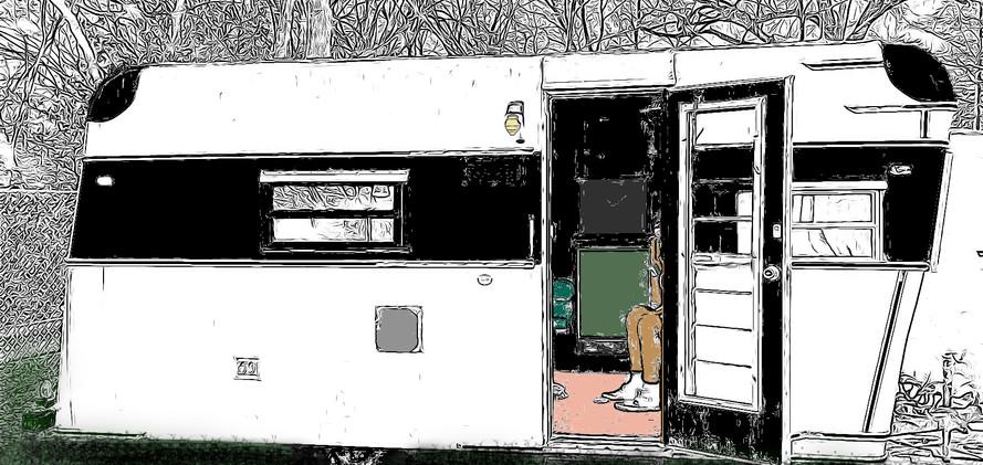 RIP Camper by Goodhart Bad Art