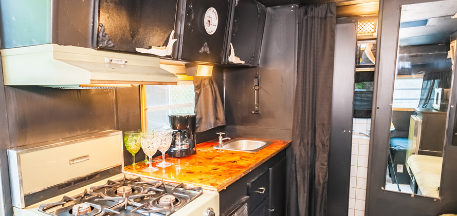 The RIP camper kitchentte