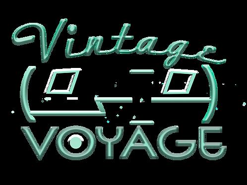 Vintage Voyage Bumper Sticker