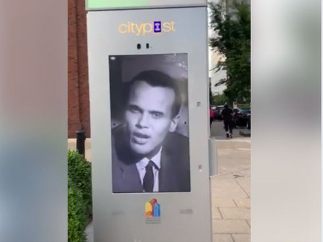 The Strange Messaging  on Louisville CityPost Kiosks that is Giving People the Creeps is Art