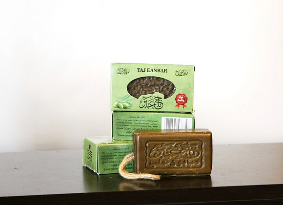 Olive Soap with Rope (4 pieces)
